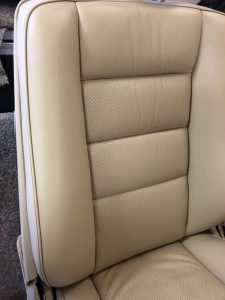 Cream Leather After